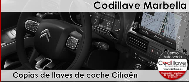 copia de llaves citroen marbella